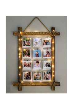 Homemade Picture Frames, Homemade Pictures, Picture Frame Crafts, Hanging Picture Frames, Wooden Picture Frames, Picture On Wood, Photo Frame Ideas, Small Picture Frames, Frames Ideas