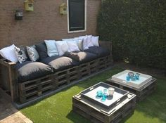 5 Amazing DIY Pallet Furniture Projects | Pallets Designs  We could make a coffee table out of a pallet
