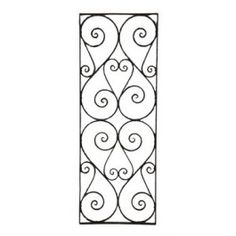 late 19th century downtown chicago hotel ornamental wrought iron window guard