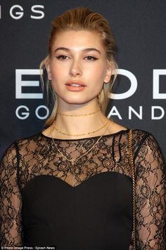 Denial: Hailey has put rumours to rest that she is dating Justin Bieber ...