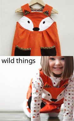 kleinFORMAT: Dienstags was anziehen: Wild Things Kleider - couture - . Sewing Tutorials, Sewing Projects, Sewing Patterns, Clothes Crafts, Sewing Clothes, Sewing For Kids, Baby Sewing, Little Girl Dresses, Kids Fashion