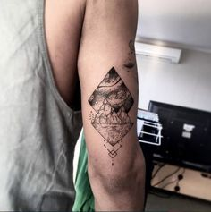 Tricep tattoo by David