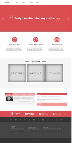 Amichai is a modern, clean  minimalistic, Multipurpose theme designed for Corporate, Agency or Business. #website #adobe #template