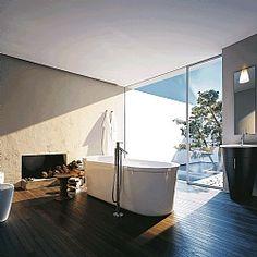Duravit Starck 1 Freestanding Oval Bath
