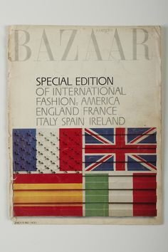 Harper's Bazaar, March 1962 The appearance of her designs in these magazines firmly established Sybil as an internationally recognised designer on par with those from Paris, London and New York.