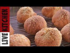 Kitchen Living, Easy Cooking, Hamburger, Recipes, Youtube, Brot, Recipies, Burgers, Ripped Recipes