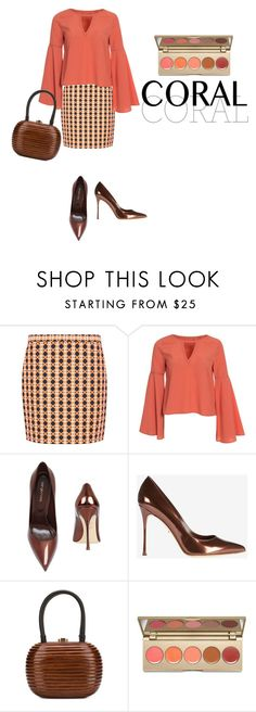"""""""Untitled #171"""" by pamibell ❤ liked on Polyvore featuring Hallhuber, Sergio Rossi, Rocio, Stila, women's clothing, women, female, woman, misses and juniors"""
