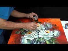Como envernizar uma pintura a óleo sobre tela - Catanzaro e Escudeiro. - YouTube