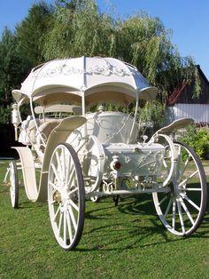 Królewski powóz do ślubu