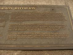 www.cashforoffer.com  The Mormon Battalion was the only religious unit in American military history, serving from July 1846 to July 1847 during the Mexican-American War. The battalion was a volunteer unit of about 500 Latt