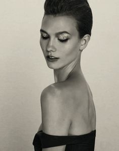 """karlie kloss """" a head for business and a body for sin"""""""