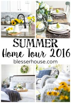 Summer Home Tour 201