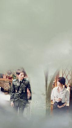 Wallpaper HD Descendants of The Sun 태양의 후예 Starring: Song Joong Ki 송중기 as Yoo Si… Desendents Of The Sun, Descendants Of The Sun Wallpaper, Song Joong Ki Birthday, Song Joon Ki, Sun Song, Otp, Korean Drama Series, Songsong Couple, Kbs Drama