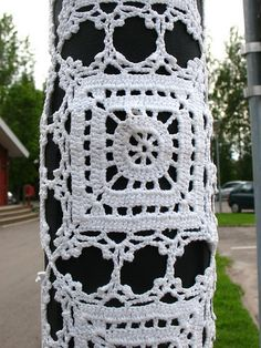 crochet mafia strikes again :) by Vilseskogen, via Flickr