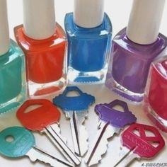 Cute idea!! For house keys