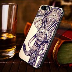 Elephant aztec iphone case cover iPhone 4 / iPhone 4S by Bangors, $14.25