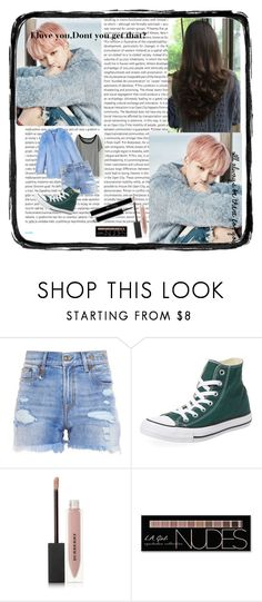 """""""I'll always be there for you"""" by kristina-mikaela-serra-tanchanco ❤ liked on Polyvore featuring Oris, R13, Converse, Burberry and Charlotte Russe"""