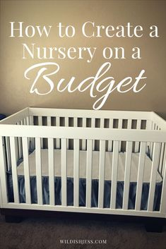 #ad #WalmartBaby Once you've been through two kids, you've got everything down and realize a high price doesn't mean safety or comfort. With number three on the way, I decided to create a cute but affordable nursery on a budget and here's how I'm doing it.