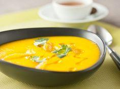 Cream of carrot, orange, honey and coriander  recipe: http://goo.gl/rLnMAF
