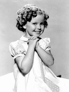 ALWAYS wanted Shirley Temple hair! Didn't we all? ...I still try to from time to time, but look like a lion instead.