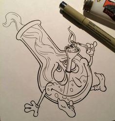 ☁︎┊ 𝙿𝚒𝚗𝚝𝚎𝚛𝚎𝚜𝚝: @ 𝚝𝚑𝚎𝚛𝚒𝚡𝚘… – Graffiti World Trippy Drawings, Tattoo Drawings, Cool Drawings, Easy Graffiti Drawings, Tattoo Sketch Art, Tattoo Art, Pencil Drawings, Graffiti Art, Graffiti Lettering