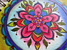 Mandala by Colleayn T. Klaibourne |Pinned from PinTo for iPad|