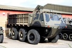 Haynes Motor Museum - Alvis Stalwart 6x6 Amphibious Truck by growler2ndrow, via Flickr