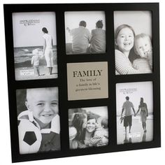 6 Aperture Family Frame | Find Me A Gift