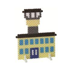 Airport perler beads
