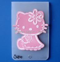 hello+kitty+sizzlits | New Sizzix Hello Kitty Embossing Folder Fit Cuttlebug | eBay