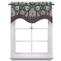 FREE SHIPPING AVAILABLE! Buy Clifton Hall Rod-Pocket Scalloped Valance at JCPenney.com today and enjoy great savings.