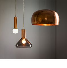 copper light in the middle - habitat