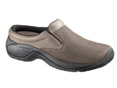 Mens Encore Bypass Shoe in Gunsmoke by Merrell $85.00 : The Nevada City Traders, Orthopedic arch support & ultra confortable