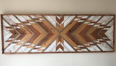Looking for a large statement piece to make an impression? This is the piece for you! Salvaged Rootz was brought to life from a passion for woodworking. That passion is put into each and every piece we craft. We use reclaimed wood that we hand select, sand, stain, paint, and arrange to