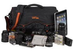 Kalahari SWAVE S-18 - XL-Foto-Umhängetasche Fototasche Kameratasche - schwarz 440417