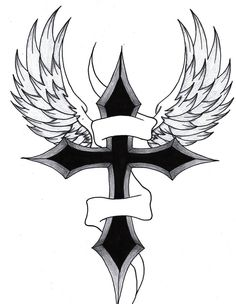 simple cross designs for tattoos photo - 1