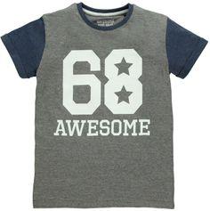 Boys Awesome Print T-Shirt (3-13yrs) on shopstyle.co.uk