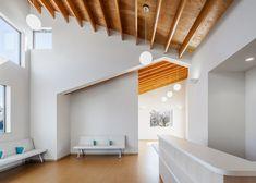 Y Clinic by Kimitaka Aoki (I like the beams on the ceiling)