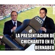 . #Chicharito ya es del #RealMadrid