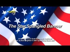 Star Spangled Banner - sing-along and accompaniment track - from God's Kids Worship.