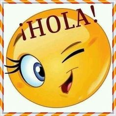Cute Good Morning Quotes, Spanish Greetings, Emoji Pictures, Smiley Emoji, Smileys, Disney Quotes, Stickers, Mini, Happy