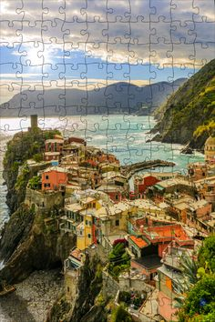 Watch the puzzle I've completed with Puzzles & Jigsaws