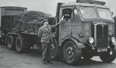 Vintage Trucks, Old Trucks, Old Lorries, Classic Motors, Commercial Vehicle, Diesel Trucks, Classic Trucks, Old Skool, Buses
