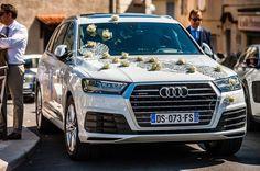 ONE DAY EVENT,  décoration de voiture mariage, bling bling , strass et paillettes