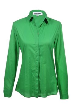 #JilSander #blouse #green #top #fashion #vintage #clothes #accessories #secondhand #onlineshopping #mymint