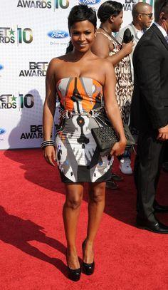 That dress! Nia Long is effortlessly fabulous!