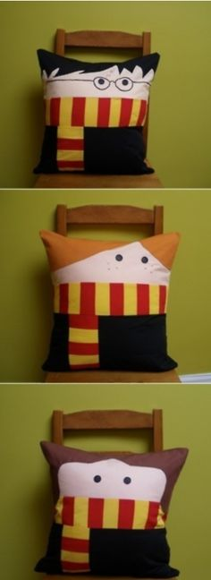 idea for crafting - Harry Potter pillows