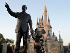 What is Walt pointing to?