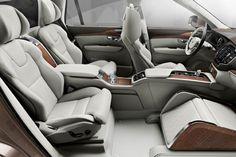 Volvo XC90 Lounge Console Concept interior view