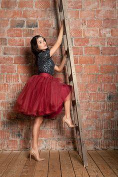 Marsala Tulle Skirt. Red Tulle Skirt. Burgundy Tulle Skirt. Shine bright like a diamond!:)